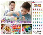 Easter Egg Dyeing Methods