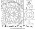 Reformation Day Coloring Pages
